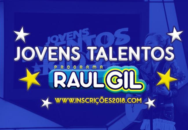 Jovens Talentos Raul Gil 2018