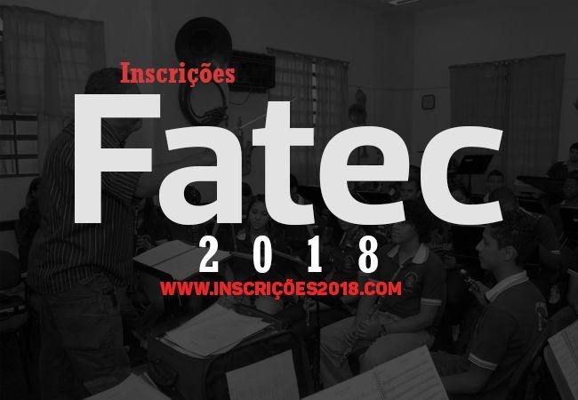 FAETEC 2018 Inscrições