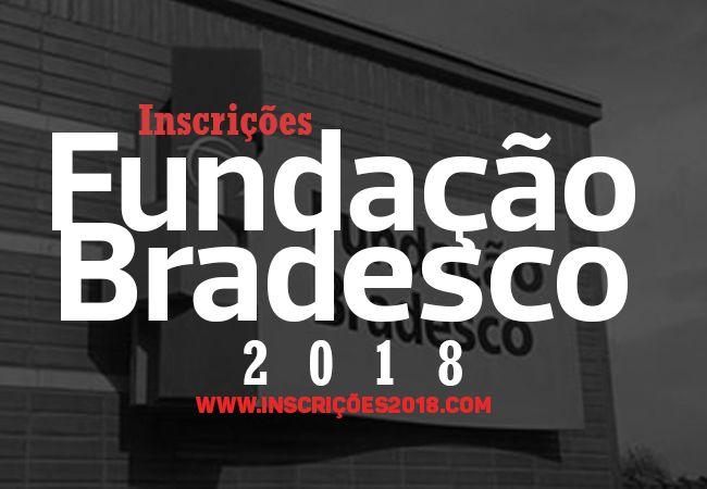 Fundação Bradesco Inscrições