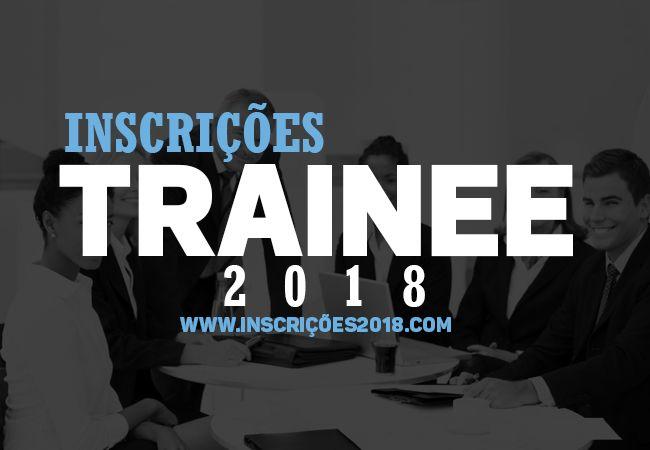 Trainee 2018 Inscrições