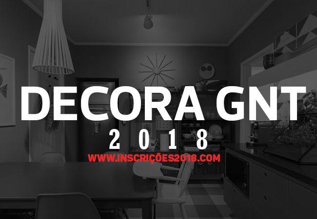 Decora GNT 2018