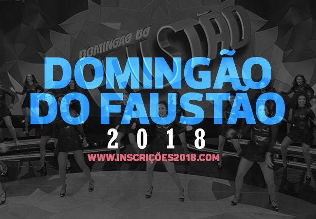 Inscrição Domingão do Faustão 2018