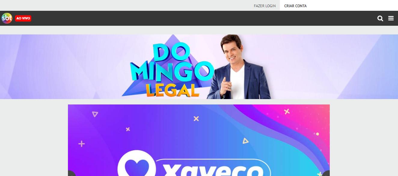 Portal Oficial Domingo Legal SBT