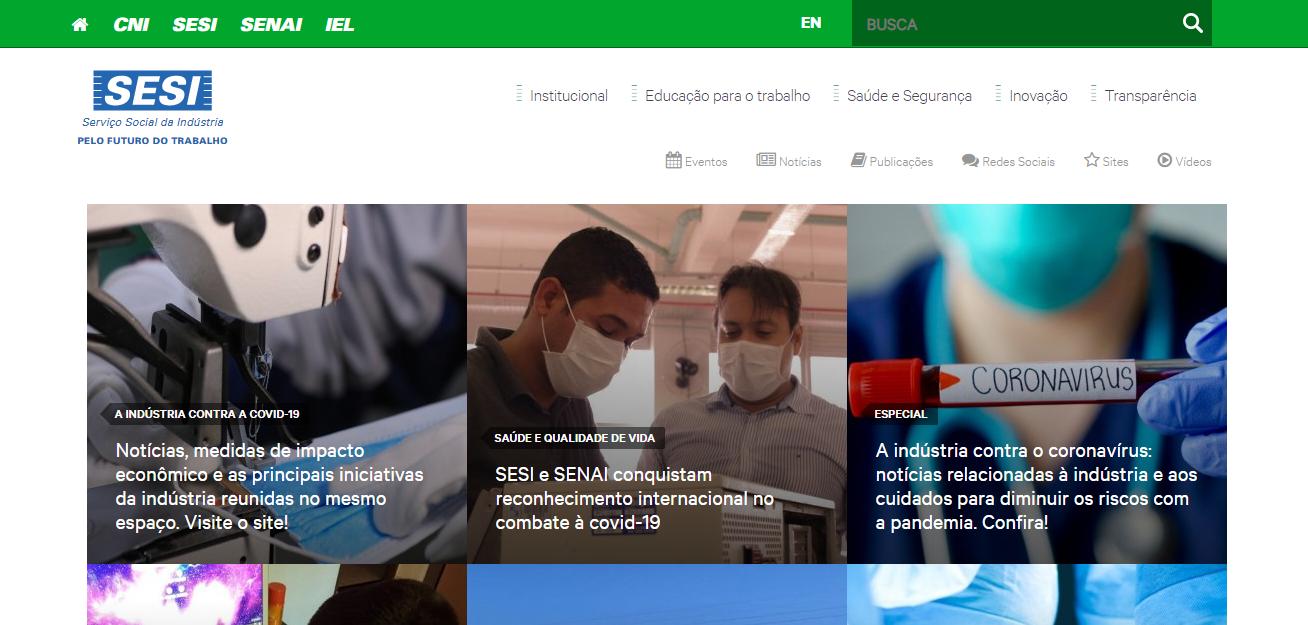 Portal SESI Brasil