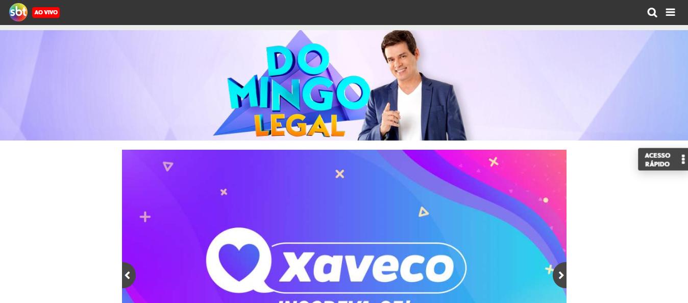 Site Oficial Domingo Legal